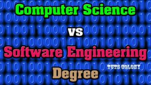 computer science vs software engineering