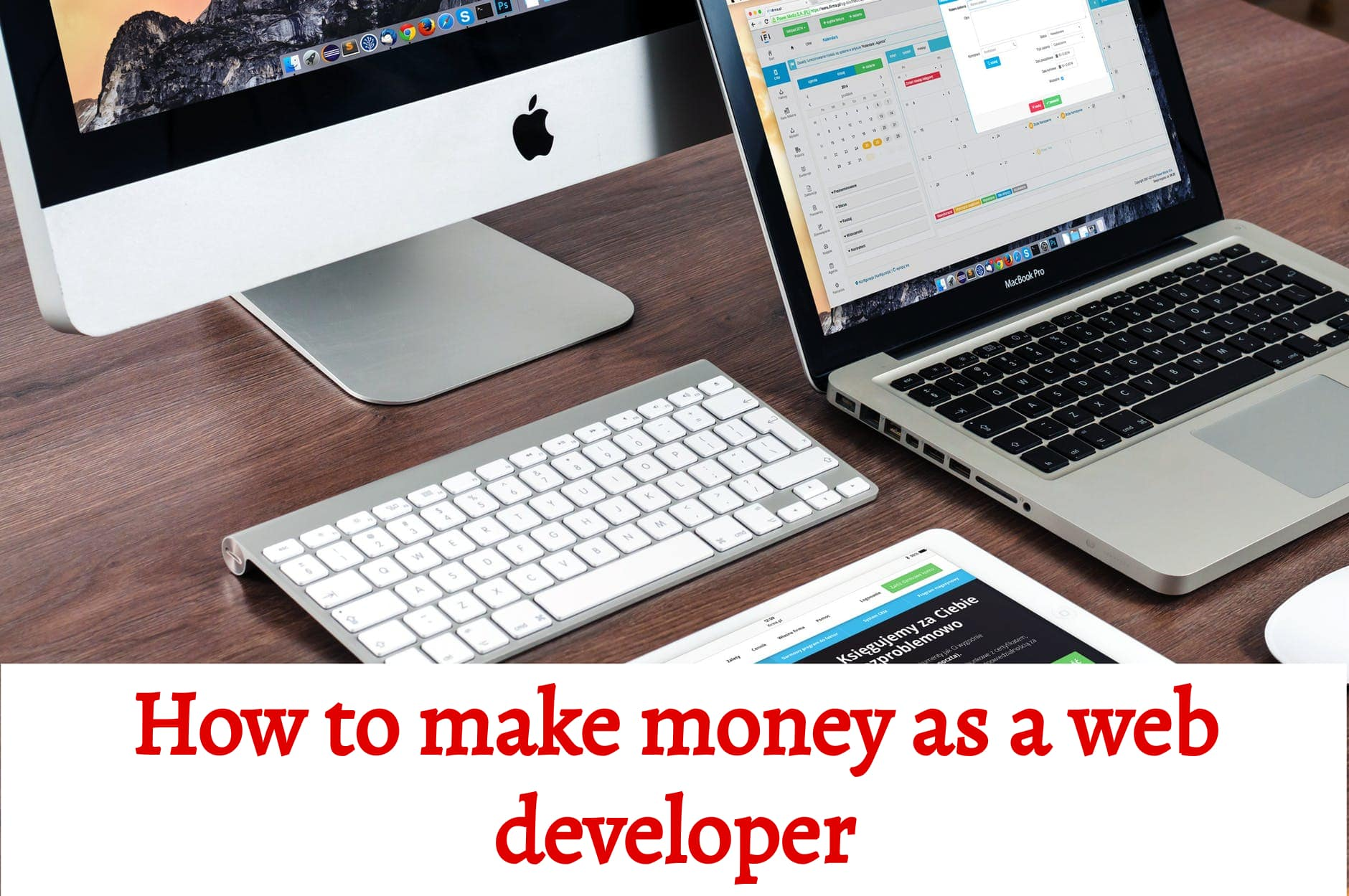 how to make money as a web developer