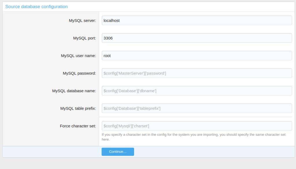 import data from vbulletin to xenforo